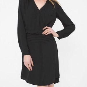 Nwot White House Black Market long sleeve dress